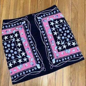 Talbot's beach seashell skirt